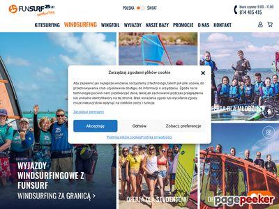kurs windsurfingowy Fun Surf