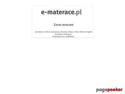 E-materace.pl - Łóżka tapicerowane