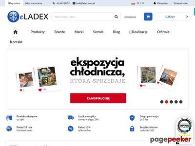 Wyposażenie sklepów, urządzenia chłodnicze | eladex.com.pl