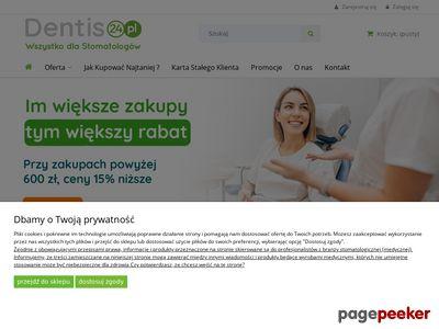 Sklep stomatologiczny Dentis24.pl