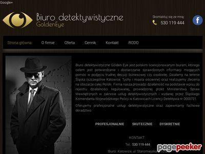 Biuro Detektywistyczne GoldenEye