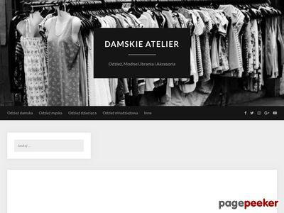 Damskie Atelier - Odzież dla kobiet z klasą