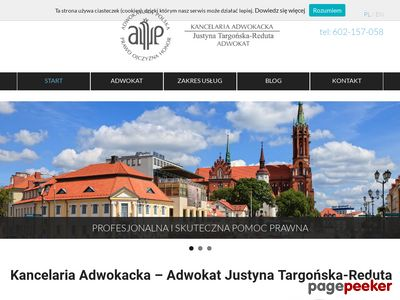 Kancelaria Adwokacka Adwokat Justyna Targońska-Reduta