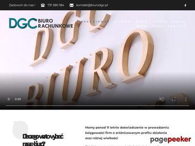 Biuro rachunkowe DGC - księgowość Łódź