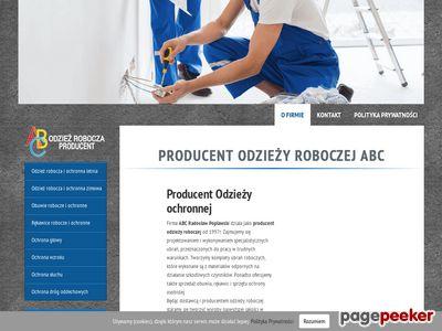 Producent odzieży BHP - ABC Odzież
